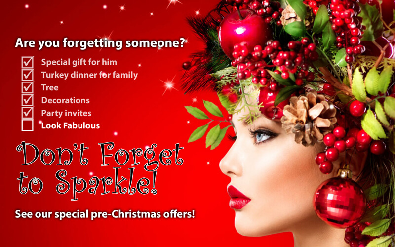 Pre-Christmas offers for you